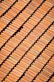 stock photo of tile cladding  - Tile on a roof - JPG