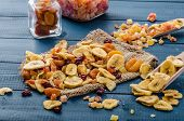 picture of papaya fruit  - Dried fruits  - JPG
