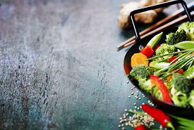 picture of chinese wok  - Chinese cuisine - JPG