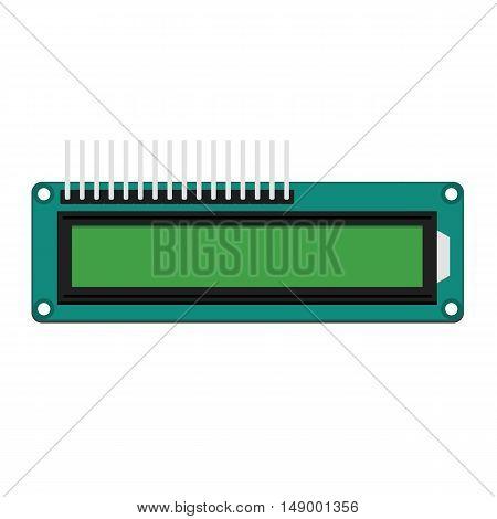 DIY electronic digital LCD board design 4x16
