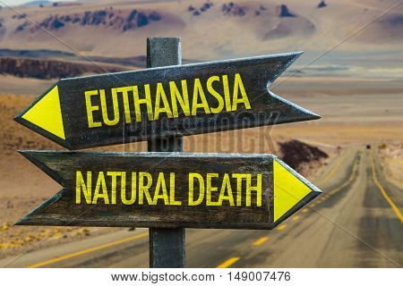 Euthanasia x Natural Death