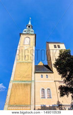 Saint Petri Church In Freiberg