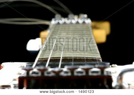 Center Of A Guitar