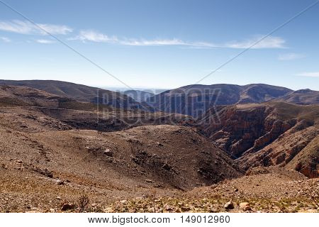 The Empty Side Of The The Swartberg Pass