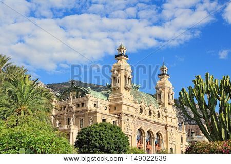 Grand Casino in Monte Carlo, Monaco .