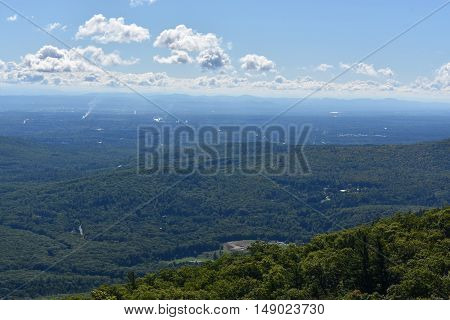View of Lake George, from Prospect Mountain, in New York
