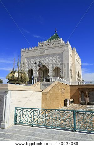 Mausoleum Of Mohammed V