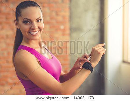 Beautiful Sports Woman