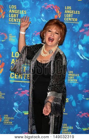 LOS ANGELES - SEP 24:  Ann Walker at the Los Angeles LGBT Center 47th Anniversary Gala Vanguard Awards at the Pacific Design Center on September 24, 2016 in West Hollywood, CA