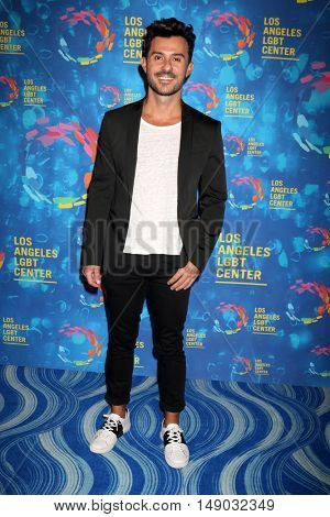 LOS ANGELES - SEP 24:  George Papanikolas at the Los Angeles LGBT Center 47th Anniversary Gala Vanguard Awards at the Pacific Design Center on September 24, 2016 in West Hollywood, CA