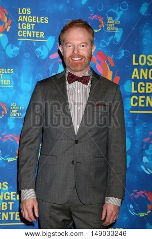 LOS ANGELES - SEP 24:  Jesse Tyler Ferguson at the Los Angeles LGBT Center 47th Anniversary Gala Vanguard Awards at the Pacific Design Center on September 24, 2016 in West Hollywood, CA