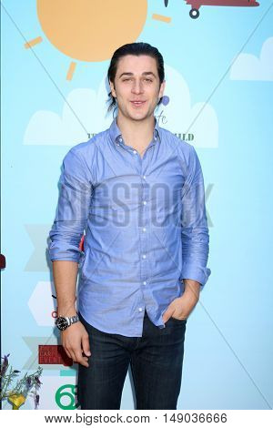 LOS ANGELES - SEP 24:  David Henrie at the 5th Annual Red Carpet Safety Awareness Event at the Sony Picture Studios on September 24, 2016 in Culver City, CA
