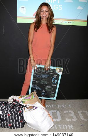 LOS ANGELES - SEP 24:  Brooke Burke-Charvet at the 5th Annual Red Carpet Safety Awareness Event at the Sony Picture Studios on September 24, 2016 in Culver City, CA