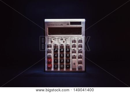 Old Dusty Electronic Calculator