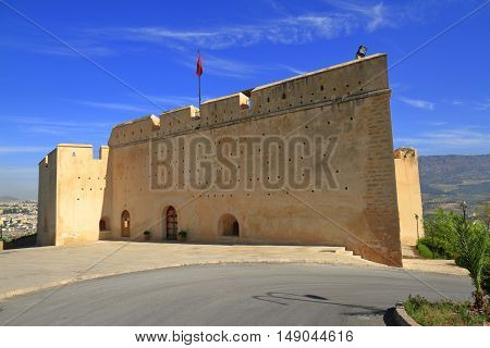 The Borj Sud Fortress Fes Morocco, Africa