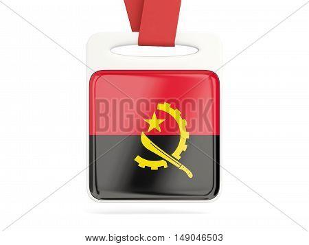 Flag Of Angola, Square Card