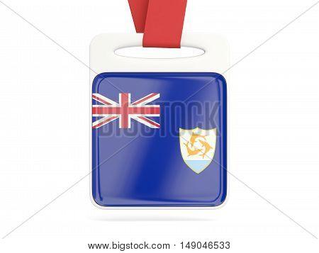 Flag Of Anguilla, Square Card