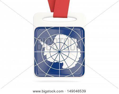 Flag Of Antarctica, Square Card