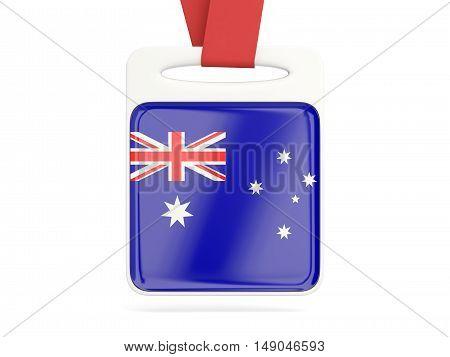 Flag Of Australia, Square Card