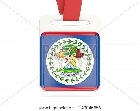 Flag Of Belize, Square Card
