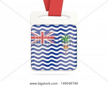 Flag Of British Indian Ocean Territory, Square Card