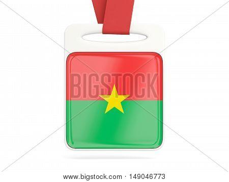 Flag Of Burkina Faso, Square Card