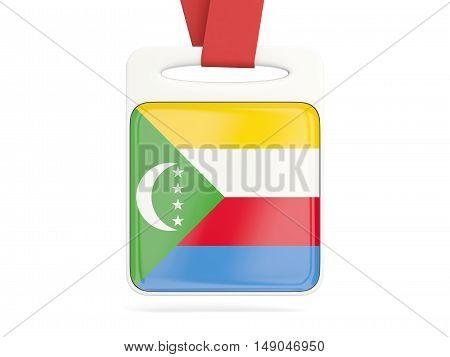 Flag Of Comoros, Square Card