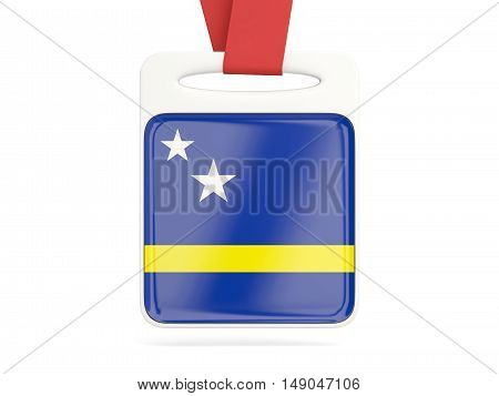 Flag Of Curacao, Square Card