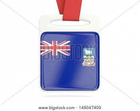 Flag Of Falkland Islands, Square Card