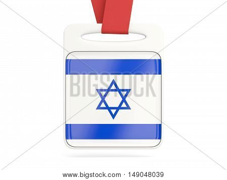 Flag Of Israel, Square Card