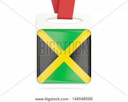 Flag Of Jamaica, Square Card
