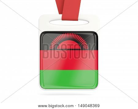 Flag Of Malawi, Square Card