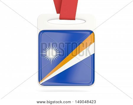 Flag Of Marshall Islands, Square Card