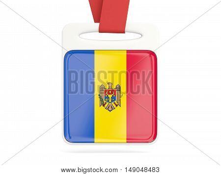 Flag Of Moldova, Square Card