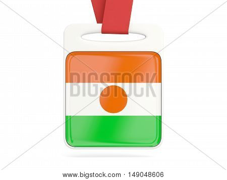 Flag Of Niger, Square Card