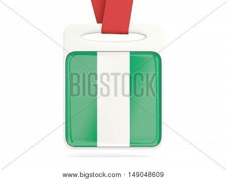 Flag Of Nigeria, Square Card