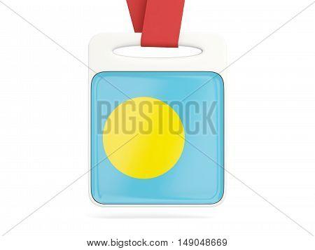 Flag Of Palau, Square Card