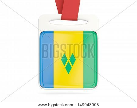 Flag Of Saint Vincent And The Grenadines, Square Card