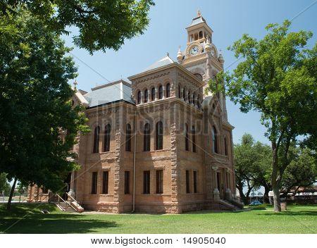Historic Texas courthouse