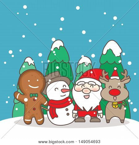 Merry christmas day great for your design
