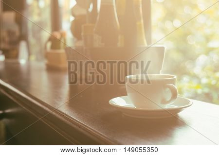 Cup Of Coffee That Suitable For Background, Backdrop, Wallpaper, Display And Everything About Coffee