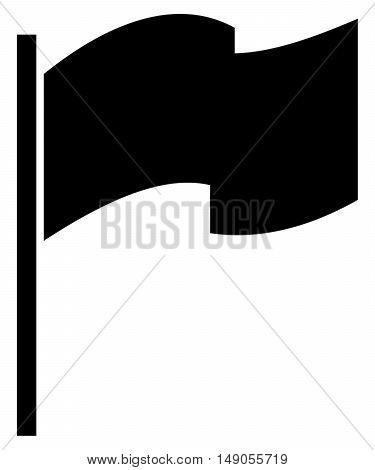 Flag Icon symbol set blank pennant sign