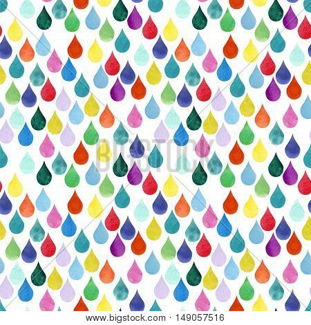 The chaotic Colored Drops watercolor Water Drop Color rainy Watercolor Pattern Drop Fall Background Autumn Rain drops Drops Seamless Background Abstract texture