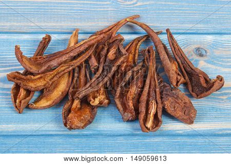 Dried Pear For Preparing Compote Of Dried Fruits, Healthy Nutrition