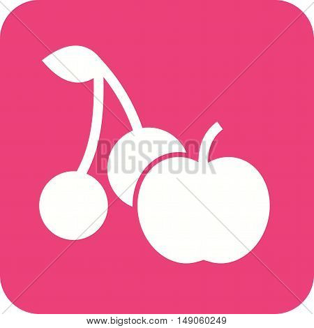 Fruit, juice, natural icon vector image. Can also be used for farm. Suitable for mobile apps, web apps and print media.