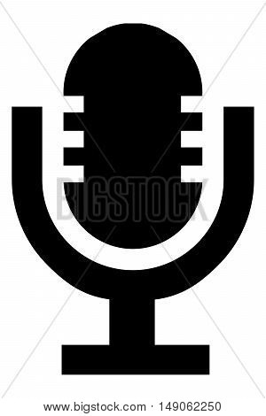 Microphone icon party radio voice live mic pop