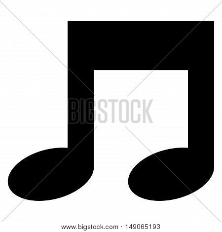 Music note Icon note icon vector background abstract