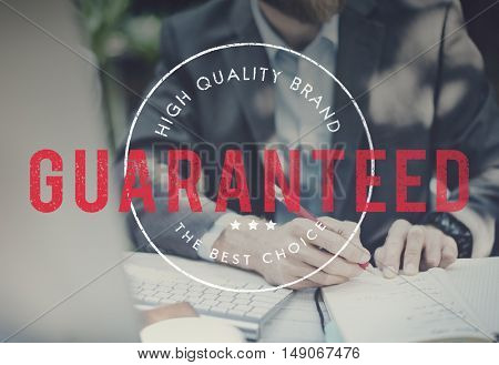 Guaranteed Premium Exclusive Quality Brand Concept