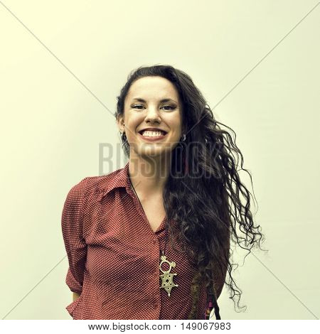 Caucasian Ethnicity Beautiful Cheerful Concept