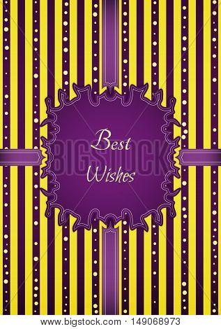 Motivation Retro Best Wishes Sticker